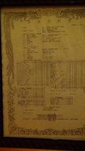清里高原ホテルの大浴場の温泉分析書