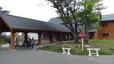 清泉寮の新館宿泊棟入口