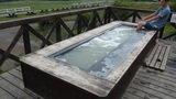 清泉寮の足湯