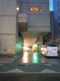 ホテルルートイン名古屋栄の車寄せ