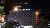 大阪新阪急ホテルの外観(夜景)
