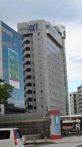 ホテルアルファーワン富山駅前の外観