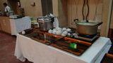 大金温泉グランドホテルの夕食のご飯とおかゆ