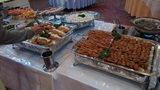 大金温泉グランドホテルの夕食の肉類