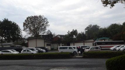 大金温泉グランドホテルの駐車場