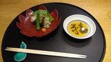 ホテルマウント富士の夕食の海老真薯雪見揚