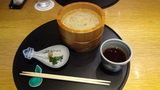 ホテルマウント富士の夕食の釜上げうどん
