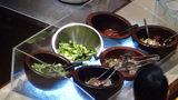 ホテルマウント富士の夕食バイキングのサラダ