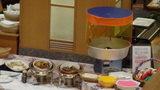 ホテルマウント富士の夕食バイキングにあった綿あめ製造器