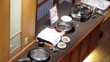 ホテルマウント富士の夕食バイキングのフルーツ