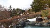 ホテルマウント富士の露天風呂からの眺め
