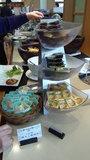 ホテルマウント富士の朝食の惣菜コーナー