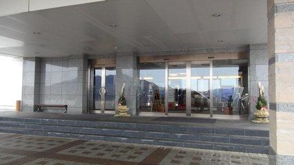 ホテルマウント富士のエトランス