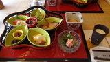 小樽旅亭蔵群の朝食