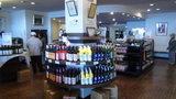 北海道ワインの本社工場の販売所