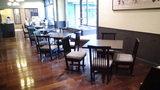 お宿木の葉の喫茶室