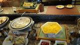 お宿木の葉の朝食のスクランブルエッグ・湯奴