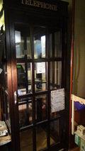 秘湯にごり湯の宿渓雲閣の公衆電話