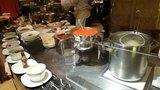 ヒルトン東京の1F「マーブルラウンジ」のビュッフェの麺コーナー