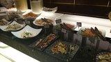 ヒルトン東京の1F「マーブルラウンジ」のビュッフェの鯖のスモーク・サーモン