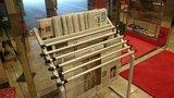 東横イン浅草蔵前雷門のロビーの新聞