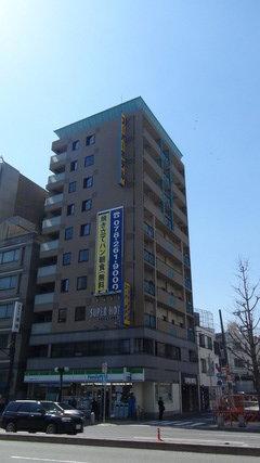 スーパーホテル神戸の外観