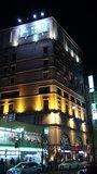ライトアップされたホテルモントレ神戸