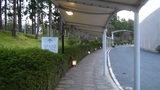 グランドプリンスホテル京都のホテル入口へのアーケード