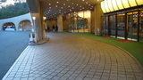 グランドプリンスホテル京都の車寄せ