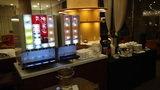 グランドプリンスホテル京都のポンドカフェのドリンクサーバー