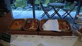 グランドプリンスホテル京都のポンドカフェの朝食のパン
