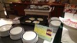 グランドプリンスホテル京都のポンドカフェの朝食の目玉焼き