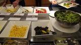 グランドプリンスホテル京都のポンドカフェの朝食のサラダ