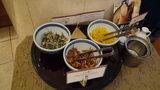 グランドプリンスホテル京都のポンドカフェの朝食の漬け物