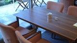 グランドプリンスホテル京都のポンドカフェの朝食のテーブル