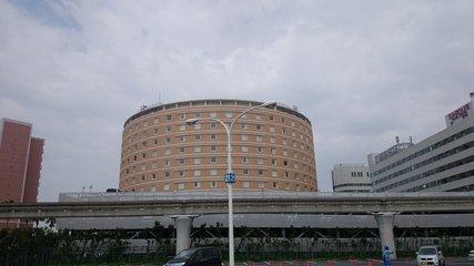 東京ベイ舞浜ホテルの外観