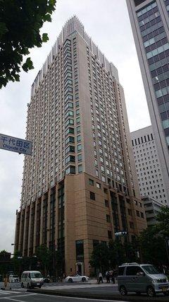 ザ・ペニンシュラ東京の銀座側からの外観
