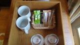 軽井沢プリンスホテルウエストのお茶・コーヒーセット