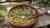 軽井沢プリンスホテルウエストのブュッフェの取れたて新鮮冷やし野菜