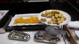 軽井沢プリンスホテルウエストの朝食のフルーツ