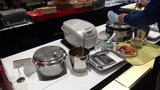 軽井沢プリンスホテルウエストの朝食のこばんとカレーとスープ