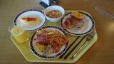軽井沢プリンスホテルウエストの朝食盛り合わせ