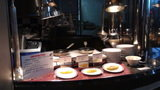 軽井沢プリンスホテルウエストの朝食のシェフ手作りのオムレツ