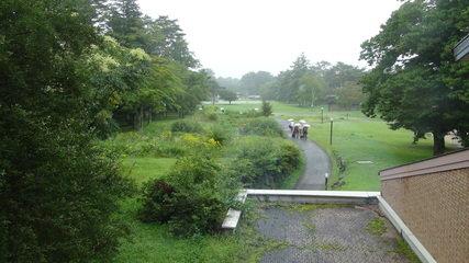 軽井沢プリンスホテルウエストの散歩が出来るガーデン