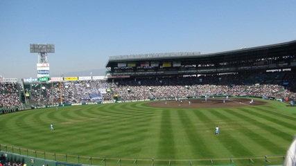 写真クチコミ:歩いてすぐのところにある「阪神甲子園球場」