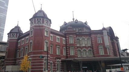 歴史的建造物「東京駅」