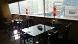 中華料理「芙蓉城」の窓際の座席