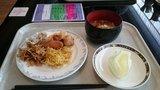 中華料理「芙蓉城」のビュッフェの盛り付け