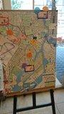 京王プレッソイン茅場町の手作りの観光案内マップ