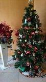 京王プレッソイン茅場町のロビーにあったクリスマスツリー